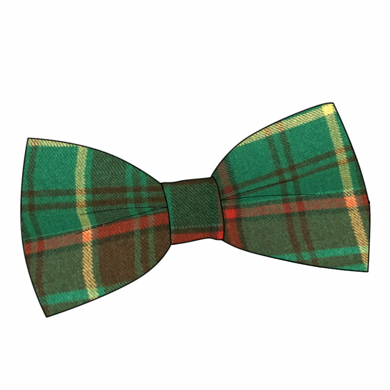 Wool Tartan Bow Tie Made To Order