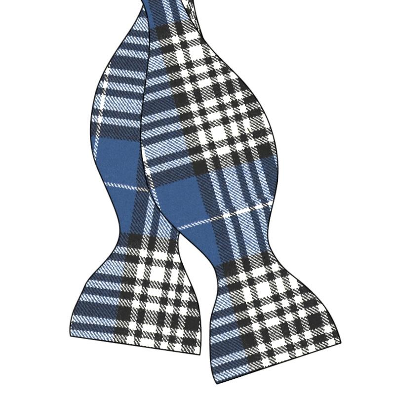 Wool Tartan Self Tie Bow Tie