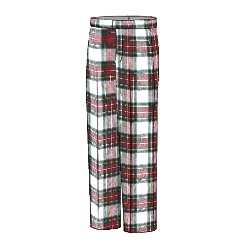 Men's Tartan Trousers - Classic Fit