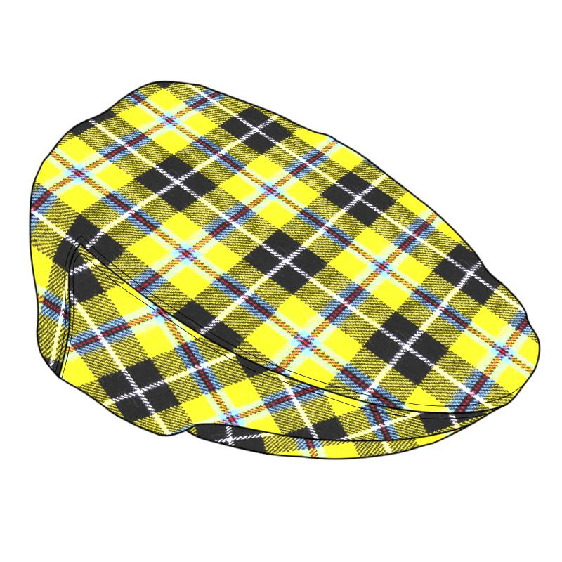Tartan Flat Cap