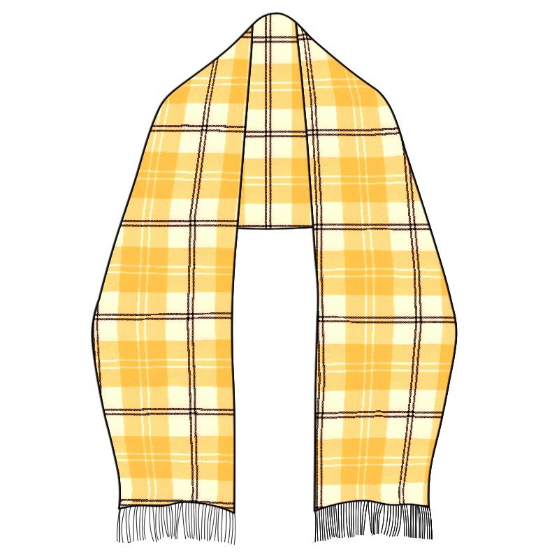 Wool Tartan Stole
