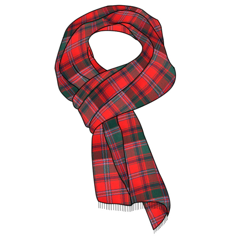 Woven Tartan Scarf Made To Order