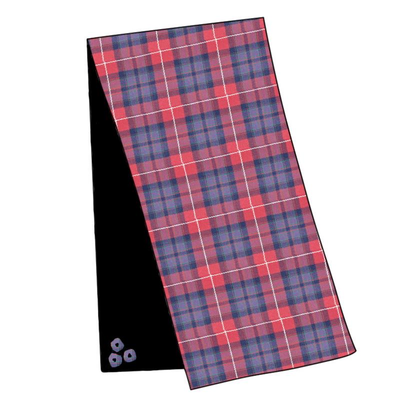 Pride of Scotland Wool Tartan Velvet Stole