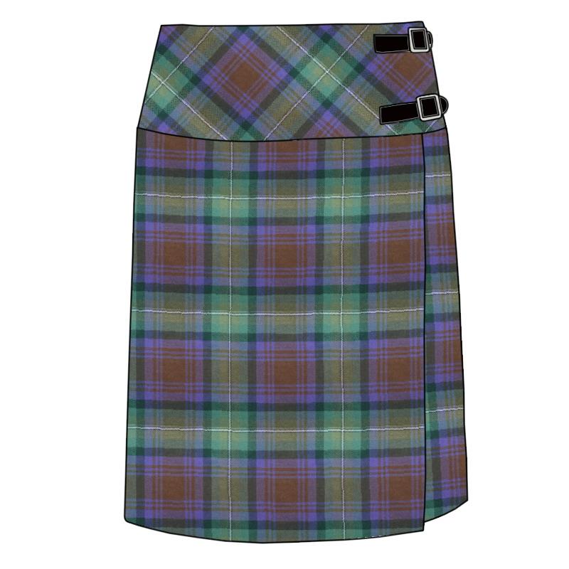 Celtic Wrap Tartan Skirt