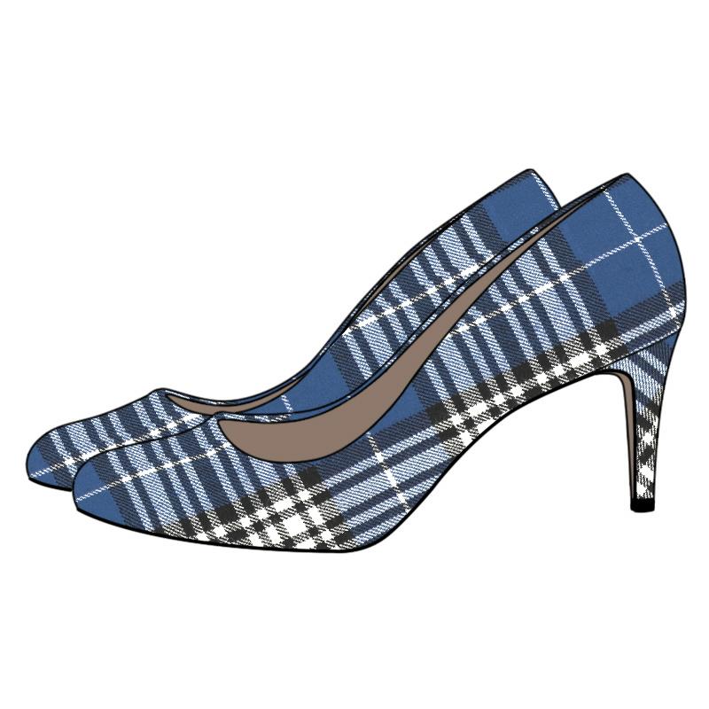 Tartan Court Shoe