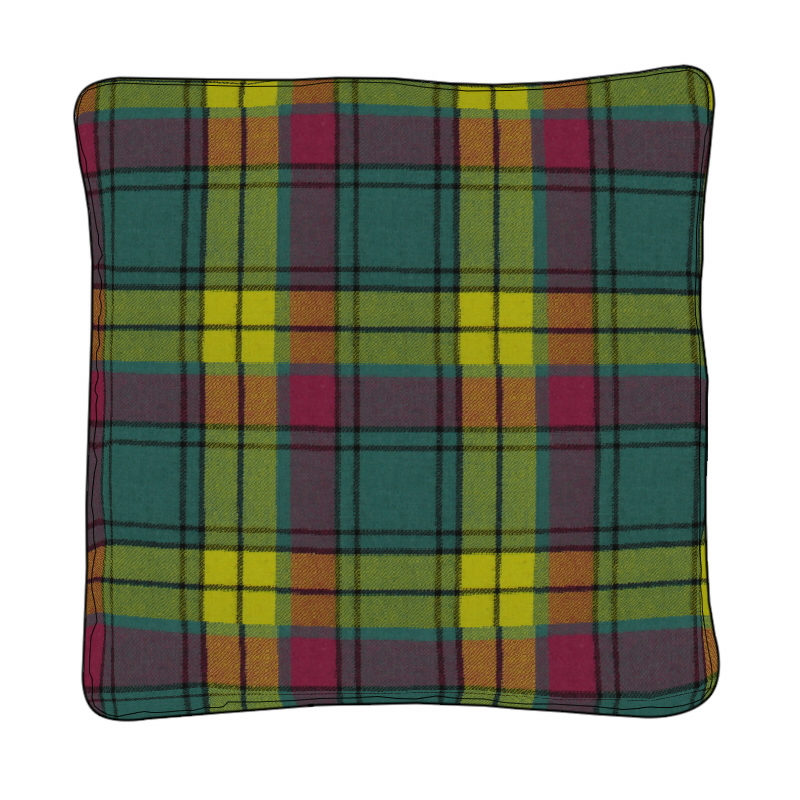 Piped Edge Tartan Cushion Covers Made To Order