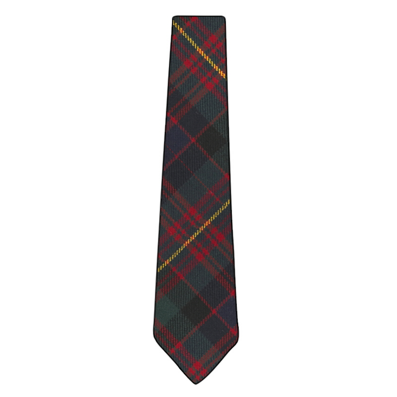 Wool Plaid Tie in Carnegie Modern