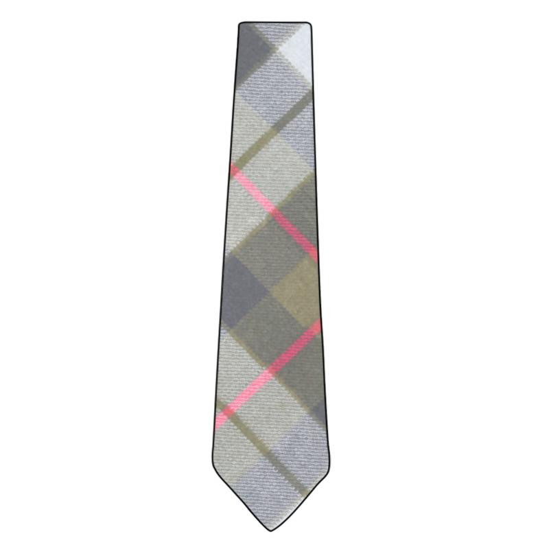 Wool Tartan Tie