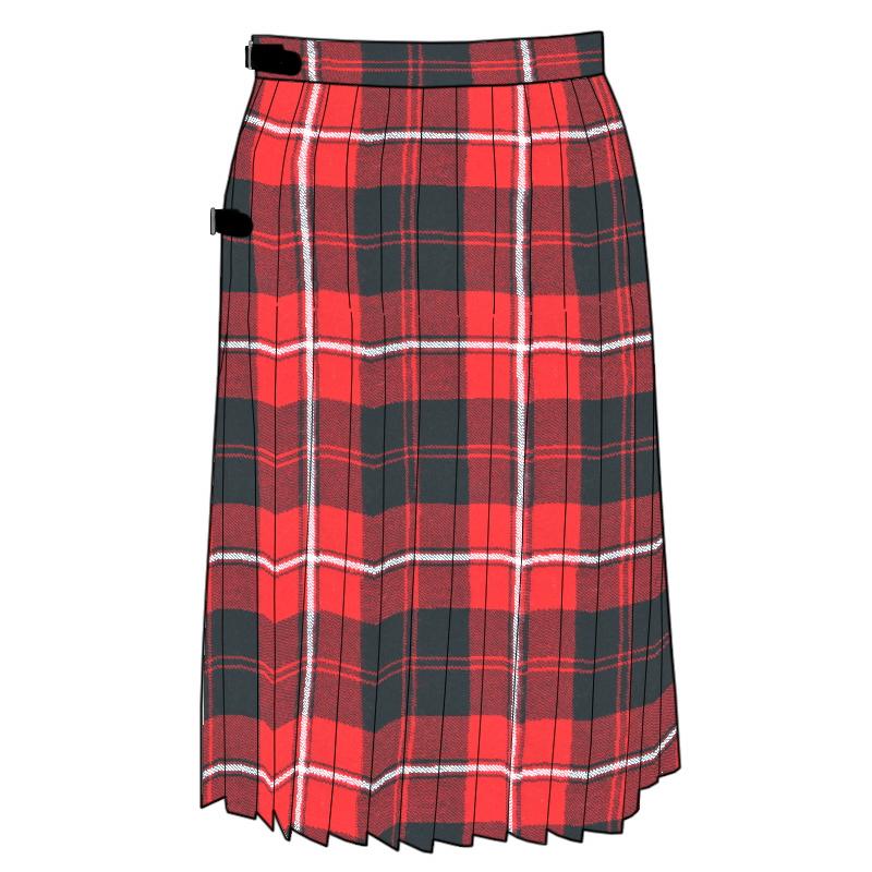 Tartan Kilted Skirt