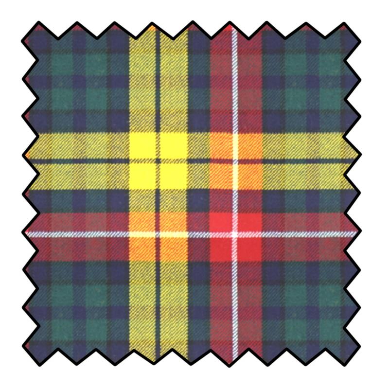 10oz Pure Wool Tartan Fabric