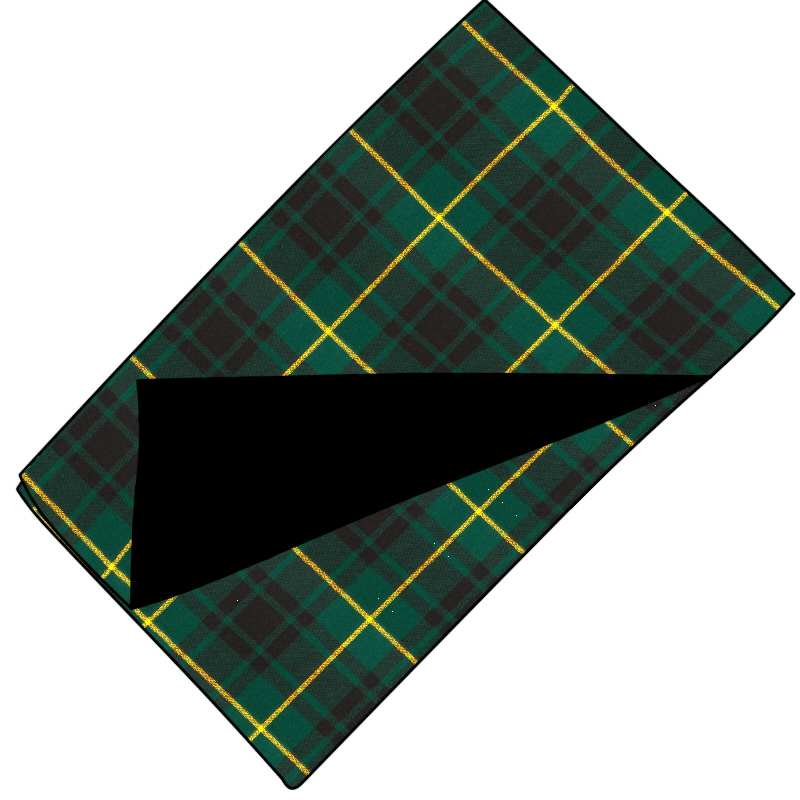 Fleece Backed Tartan Throw Made To Order